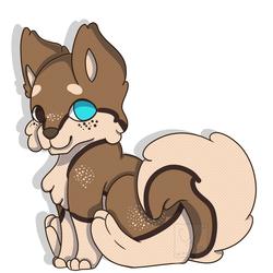 Adorable Mocha-pup