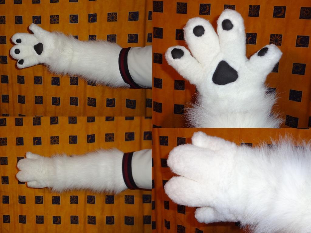 Part- Suit (Handpaw's + Arm warmers) 3/4