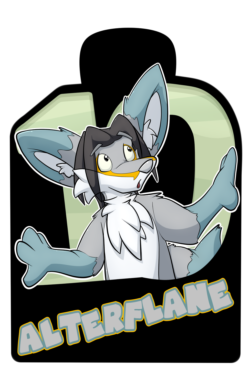 Confuzzled 2017 Badges - Alterflane
