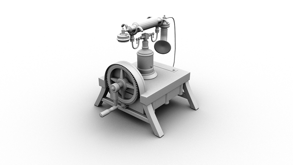 Steampunk Telephone 2