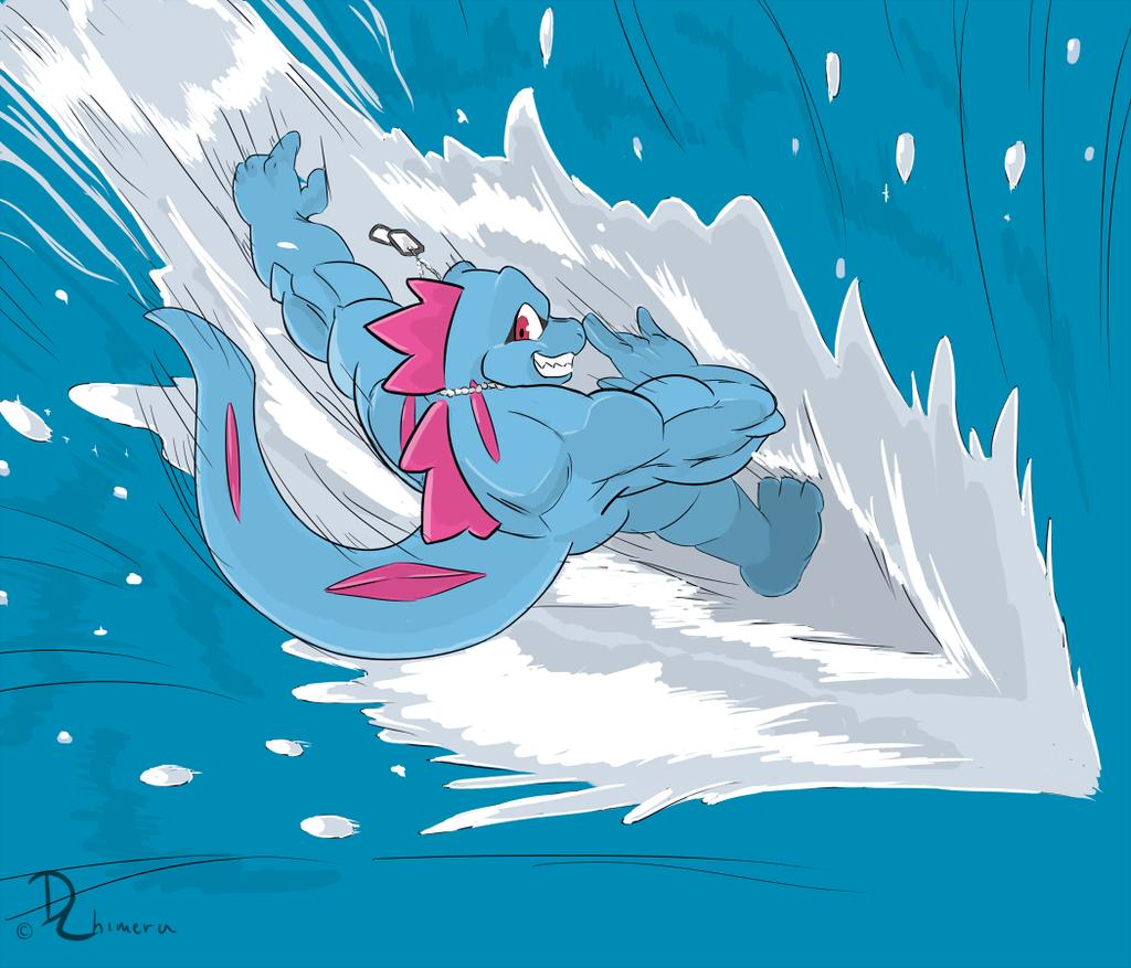 Totodile used Surf