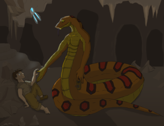 The Child and the Snake
