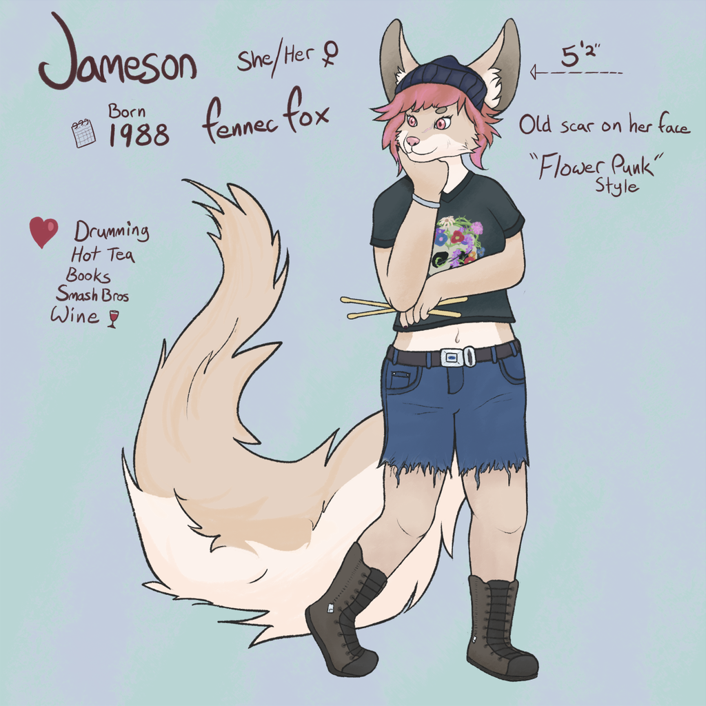 Most recent image: Jameson the Fennec