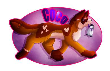 coco's feral badge 1