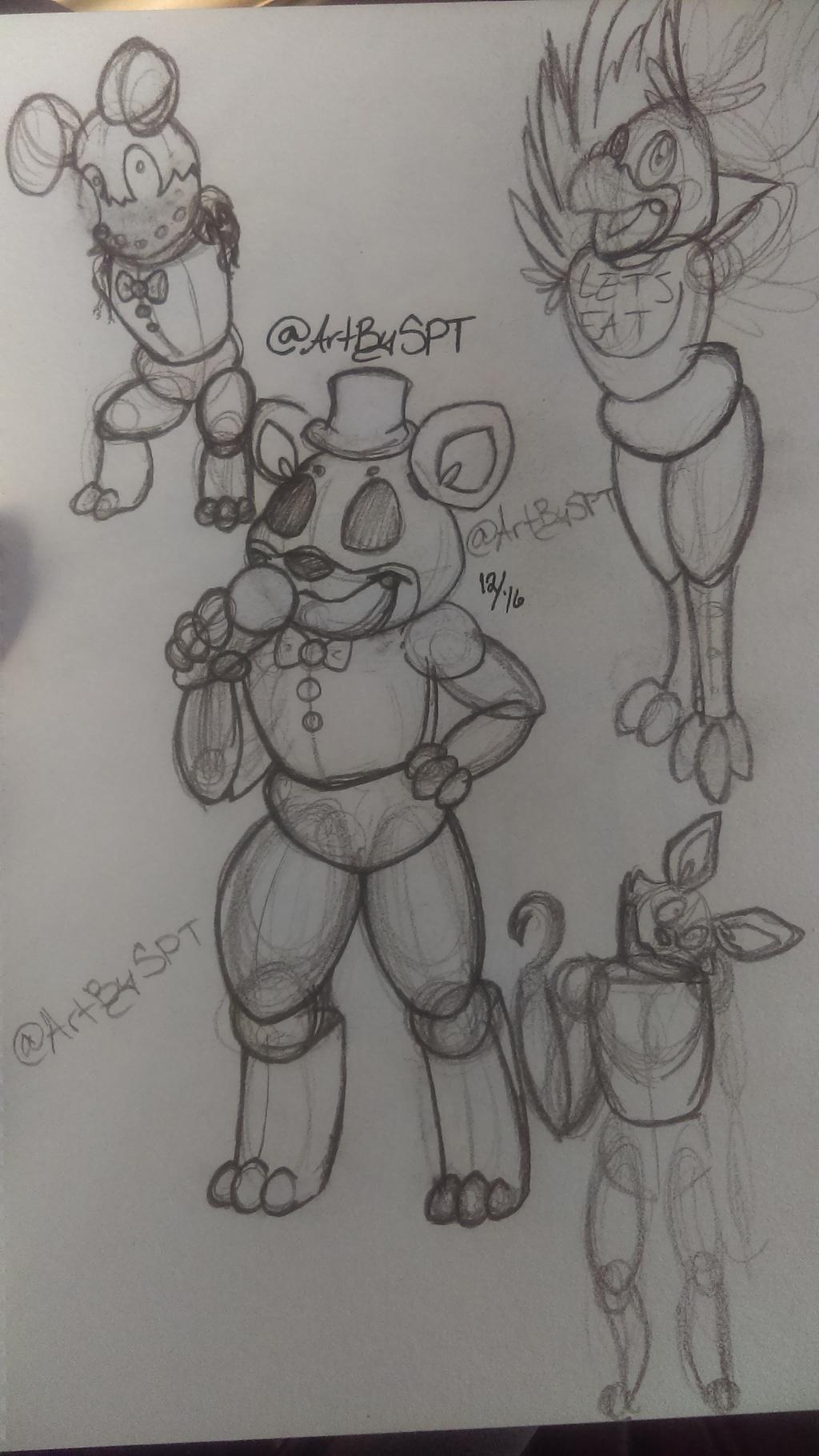 FNAF doodles