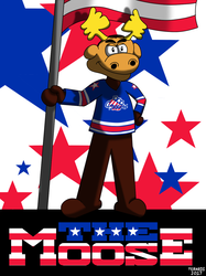AHL MAX Series Number 13 of 30: The Moose - Rochester Americans