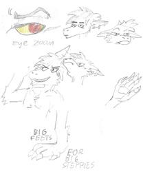 Fursona Sketches - Style Study