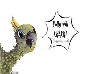 Polly will crack!