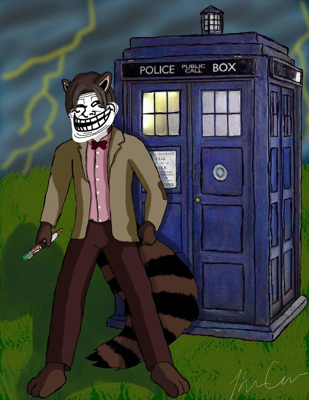 Most recent image: Basically...RUN! (troll)