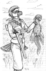 Viktoria Out Hunting