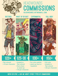 Comissions: OPEN!
