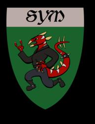 Sym Heraldry Badge