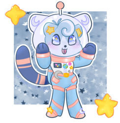 Space Cat character auction