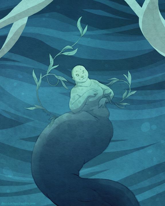 Seal Mermaid