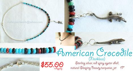 American Crocodile - Necklace