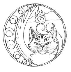 Commission - Feline Seraphim