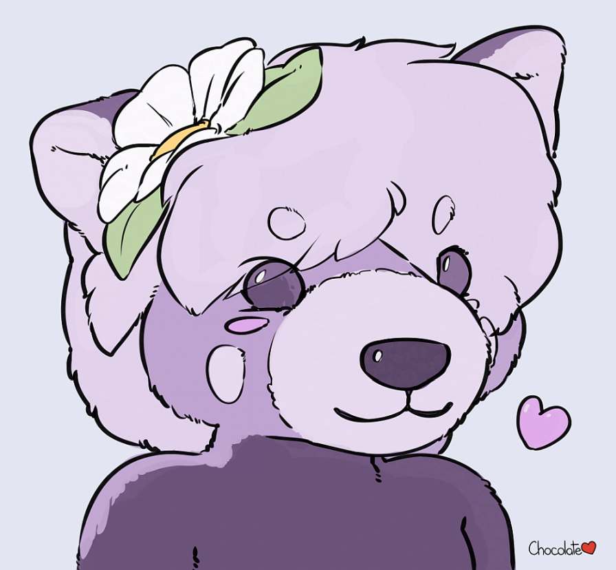 Deex Panda Plush Portrait