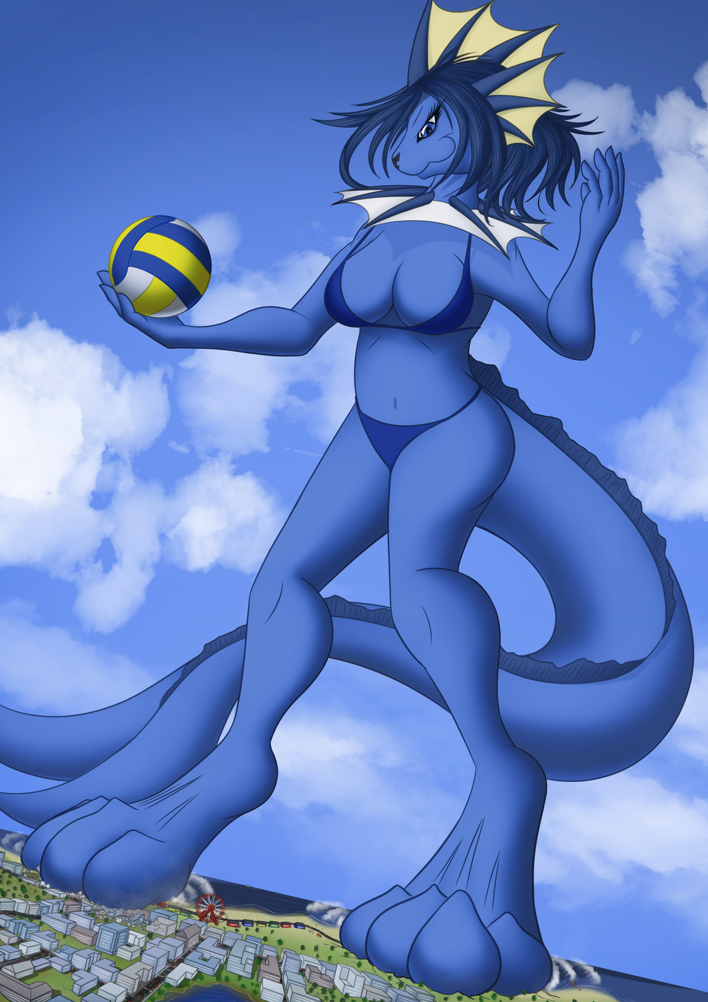 Who's Up For Volleyball?