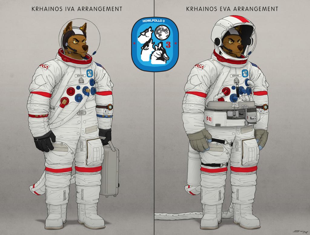 Krhainos Spacesuit