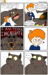 Spooky Woof-Man (WARNING: CREEPY IMAGERY)