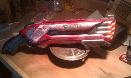 "Nerf Roughcut ""Hot Mess"""