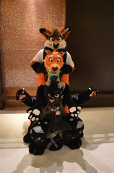 Furry Totem Pole!