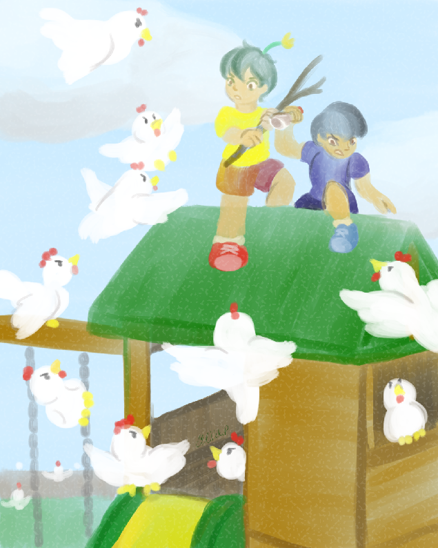 Most recent image: Attack Of The Chickens