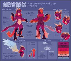 [COM] Arystrix Ref Sheet