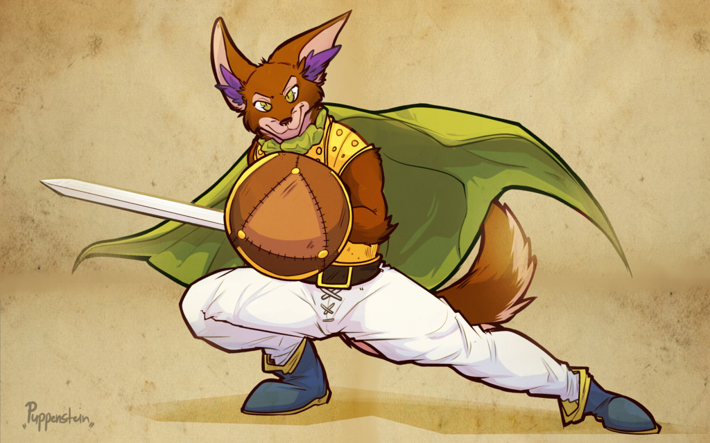 [C] The Warrior with the Hero's Badge