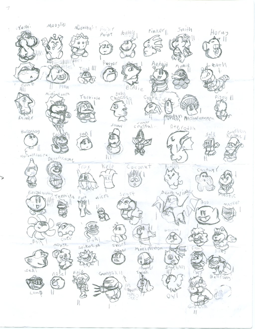 2002: All the Critters