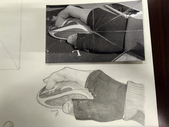 Figure Drawing Assignment- Hand 2
