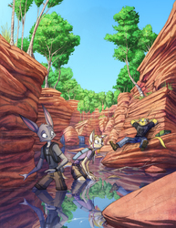 Dreamkeepers commission 'Summer Gorge'