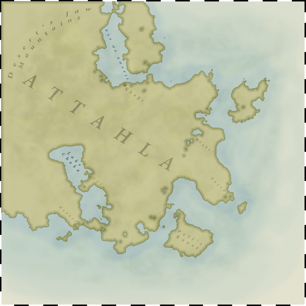 Most recent image: Desert Kingdom of Attahla