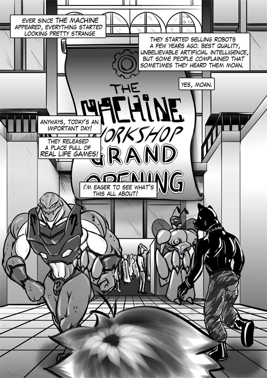 Hellfire Slave - Page 1