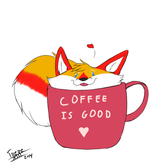 Most recent image: Foxy in a mug