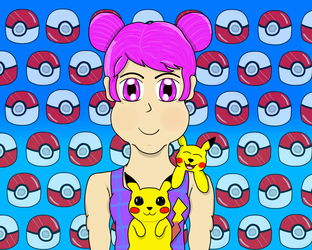 You're my Pika Girl in the Poke-World