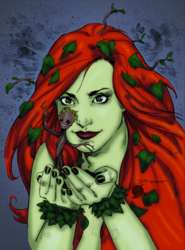 Poison Ivy and Baby Groot