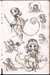 Mice Designs Sketch Page (old)