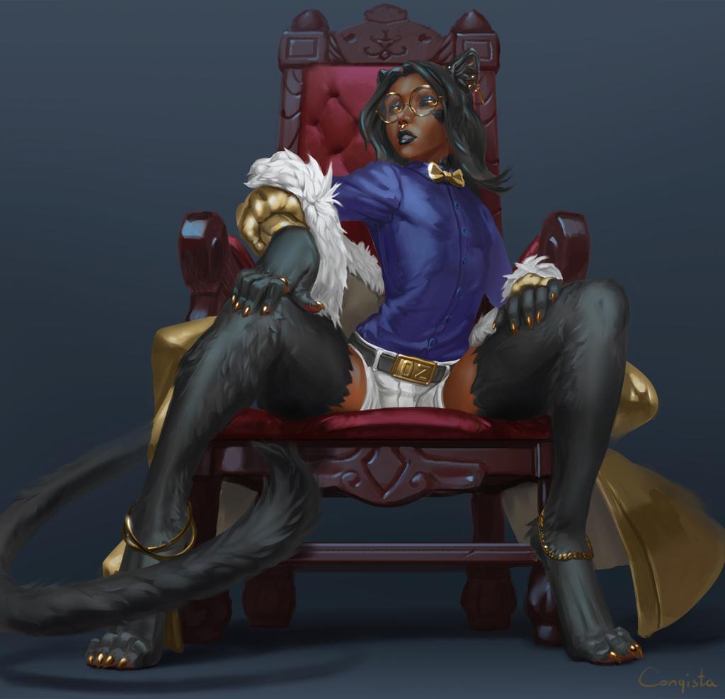 Most recent image: Feline Royalty