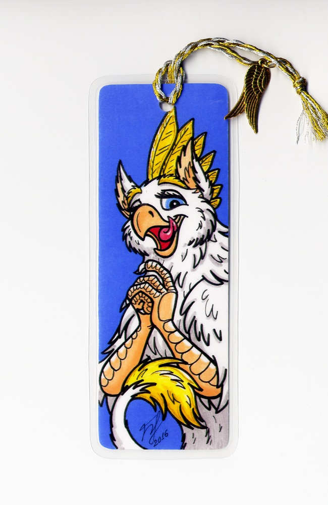Most recent image: Bookmark - Angel-Gryph