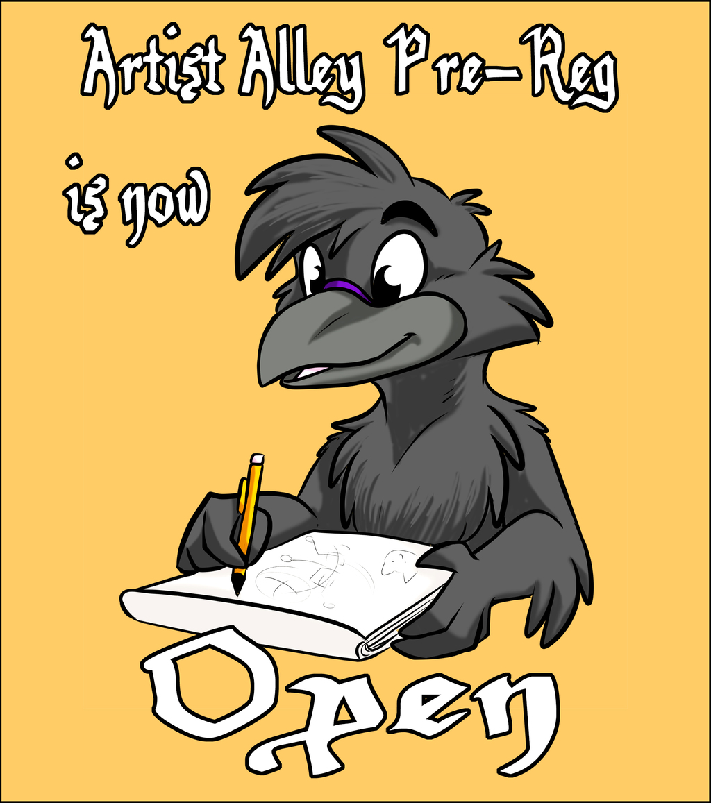 Sign up for Artist's Alley!