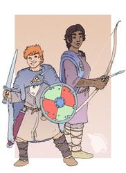 [Commission]-Bragi and Fen