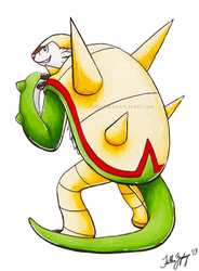 Kalos Dex Challenge: Chesnaught