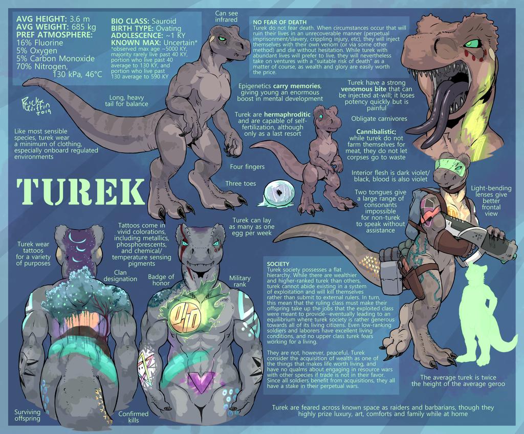 Turek Species Sheet