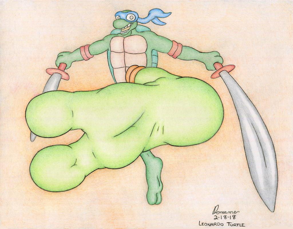 Most recent image: Leonardo's Flying Kick