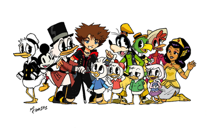 Donald and Friends