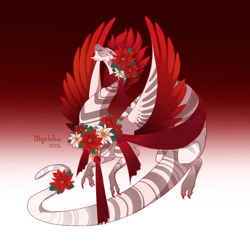 Poinsettia (by Mythka)