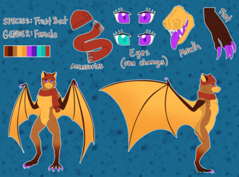 CO - Autumn Bat Reference Sheet