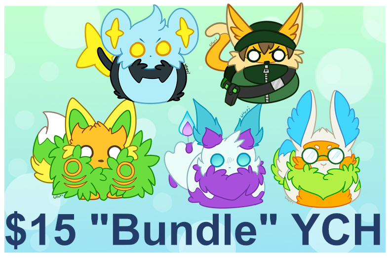 Featured image: $15 Bundle YCH