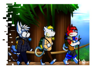 Going off Camping~